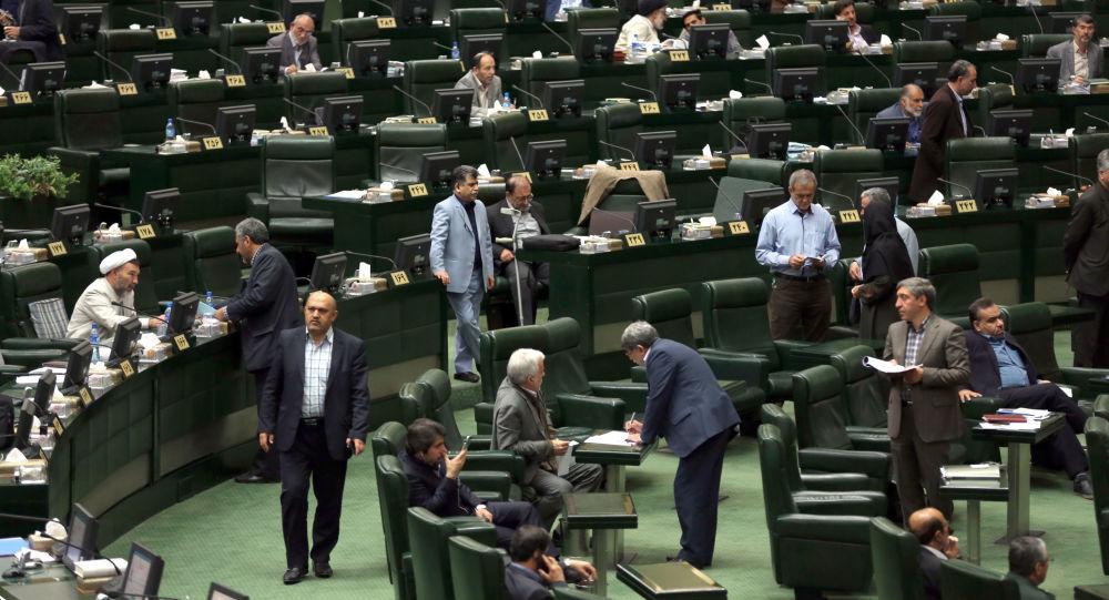Sesja irańskiego parlamentu