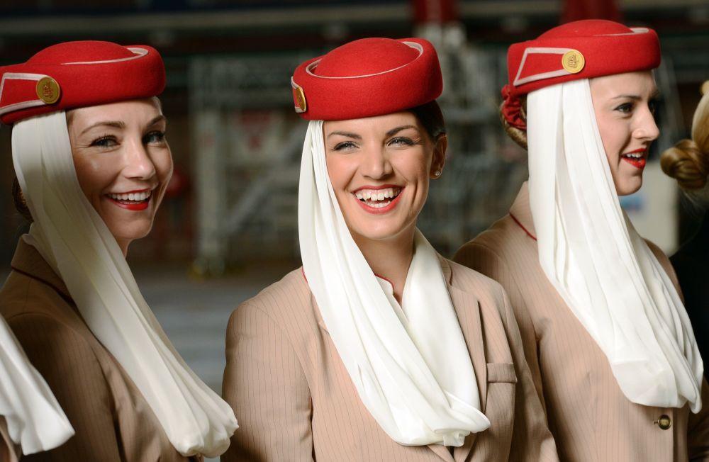 Stewardessy linii Emirates airline