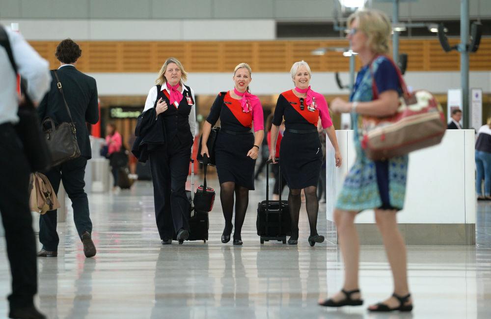 Stewardessy linii Qantas