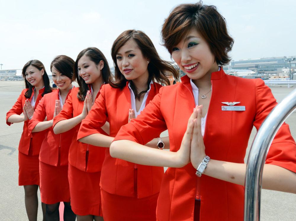 Stewardessy linii Air Asia Japan