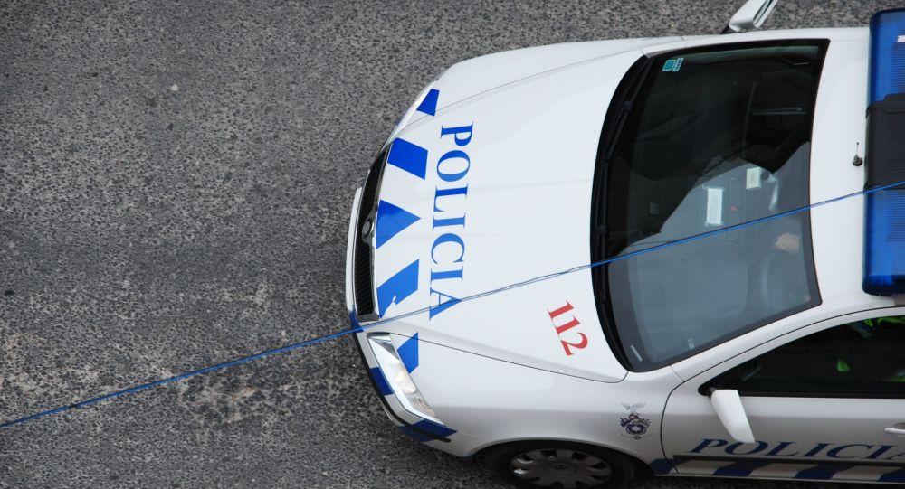 Samochód portugalskiej policji