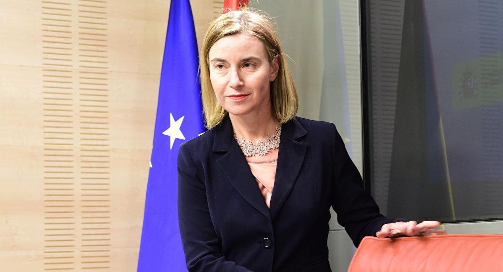 Szefowa unijnej dyplomacji Federica Mogherini