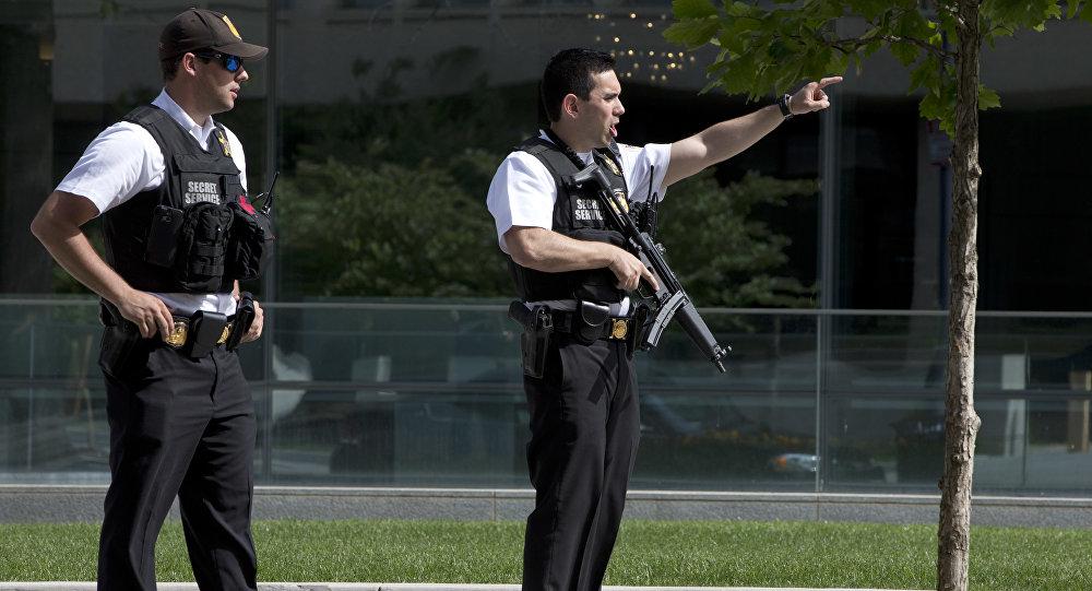Strzelanina w pobliżu Białego Domu