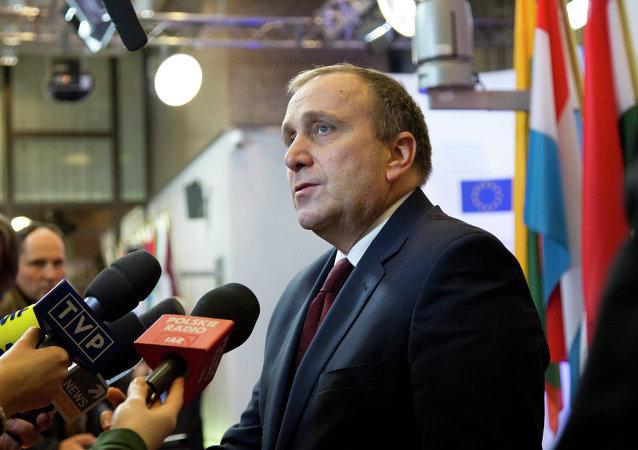 Polens Außenminister Grzegorz Schetyna