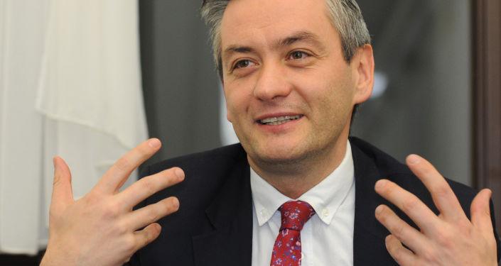 Prezydent Słupska Robert Biedroń