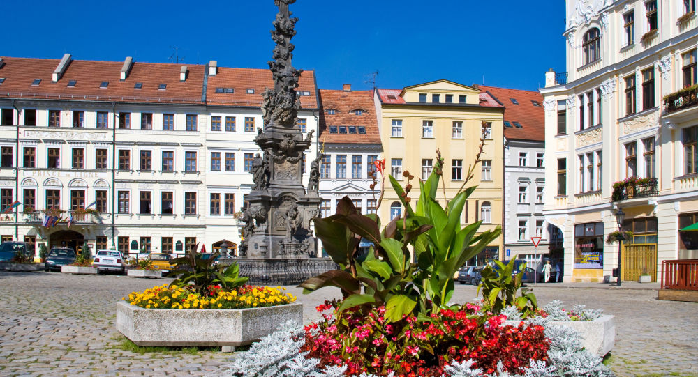 Czeskie miasto Teplice