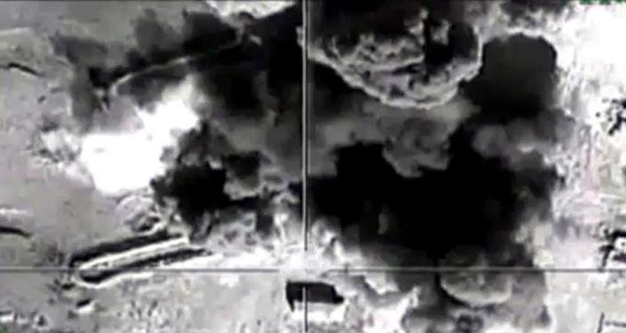 Naloty rosyjskich sił powietrznych na pozycje Państwa Islamskiego