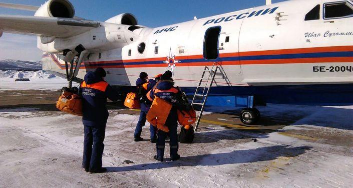 Samolot amfibia Be-200CzS