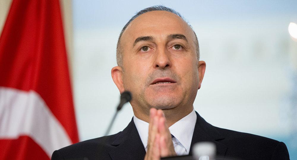 Szef tureckiej dyplomacji Mevlüt Çavuşoğlu