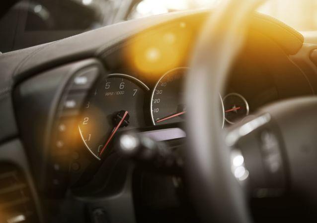 Deska rozdzielcza samochodu