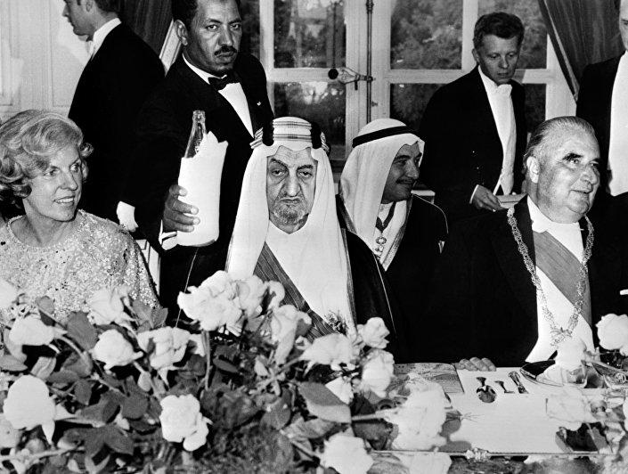 Trzeci król Arabii Saudyjskiej Fajsal ibn Abd al-Aziz Al Su'ud