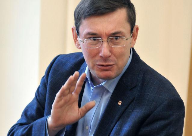 Przewodniczący Bloku Petra Poroszenki Jurij Łucenko