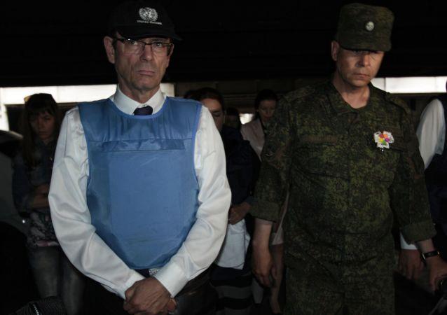 Pomocnik sekretarza generalnego ONZ do praw człowieka Iwan Szymonowicz