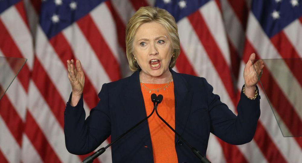 Kandydatka na urząd prezydenta USA Hillary Clinton w San Diego