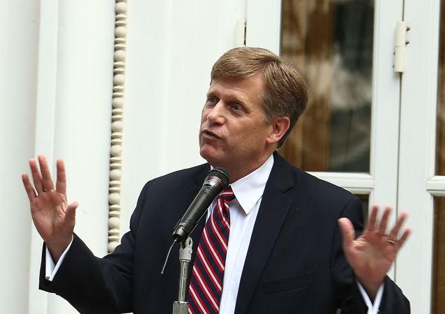 Michael McFaul - były ambasador USA w Rosji