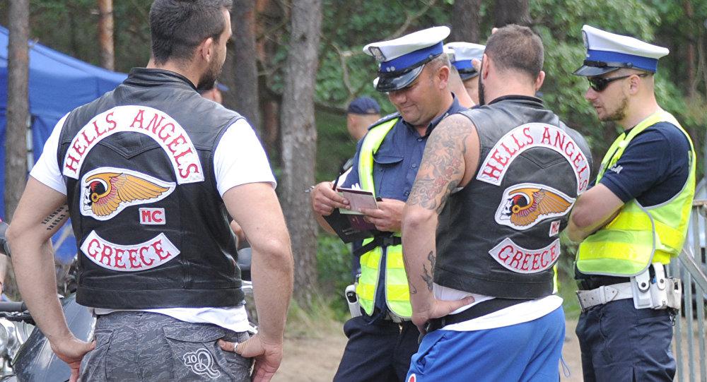 Członkowie grupy Hells Angels zatrzymani przez policję