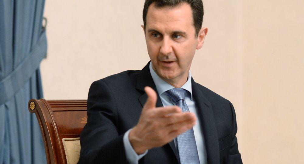 Spotkanie prezydenta Syrii Baszara al-Asada z delegacją rosyjskich parlamentarzystów