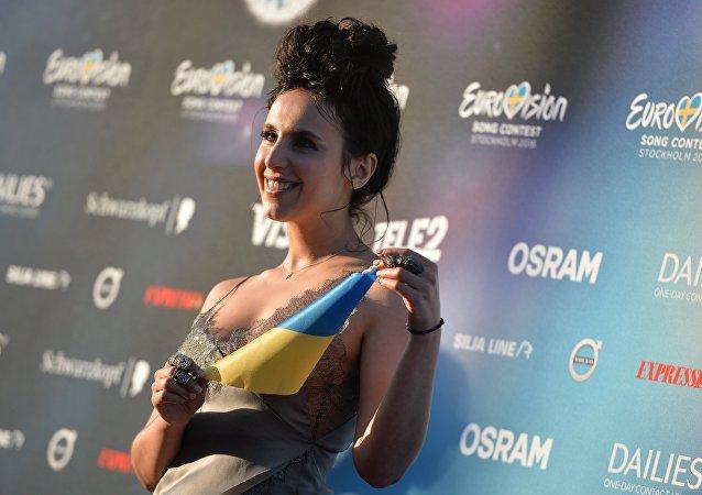 Jamala na otwarciu 61. Konkursu Piosenki Eurowizja 2016.