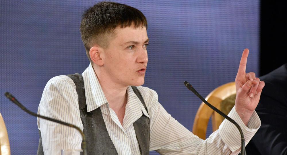 Nadieżda Sawczenko w Kijowie