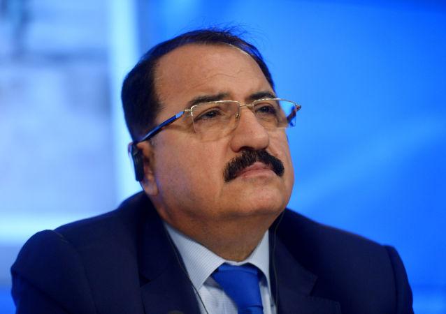 Ambasador Nadzwyczajny i Pełnomocny Syryjskiej Republiki Arabskiej w Federacji Rosyjskiej Riyad Haddad