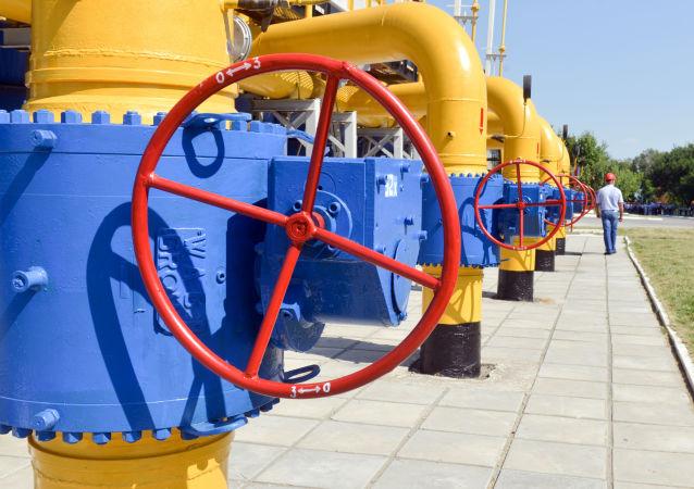Tłocznia gazu Naftohazu w pobliżu Charkowa