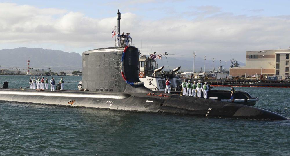 Amerykański okręt podwodny Mississippi