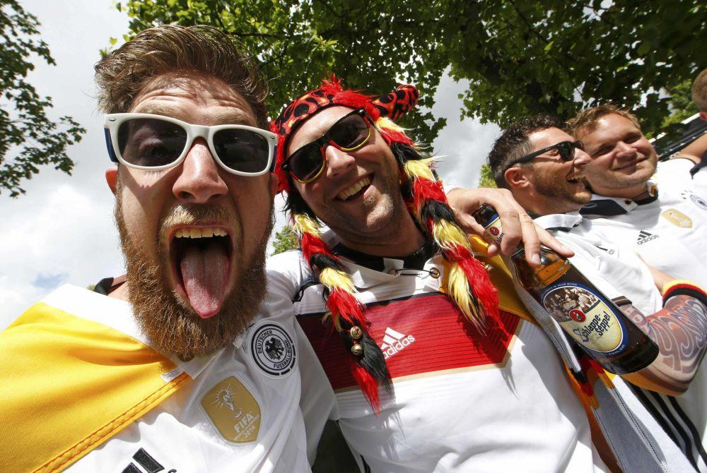 Niemieccy kibice na Euro-2016 we Francji