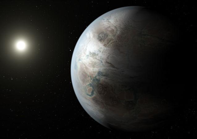 Rysunek egzoplanety Kepler-452b