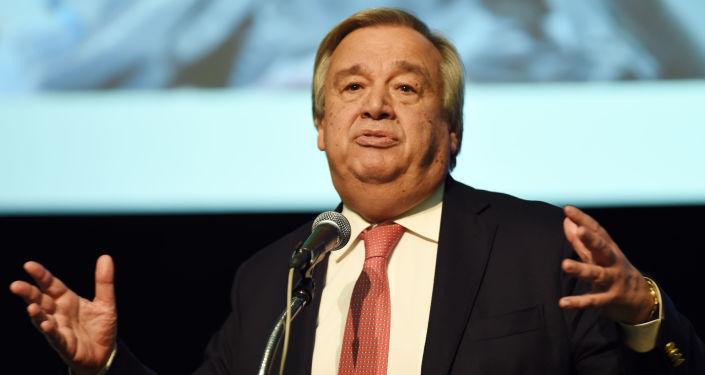 Wysoki Komisarz NZ ds. uchodźców António Guterres
