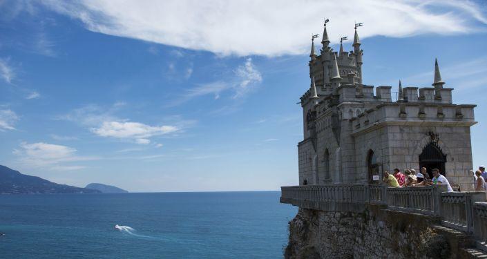 Pomnik architektury na Krymie Jaskółcze Gniazdo