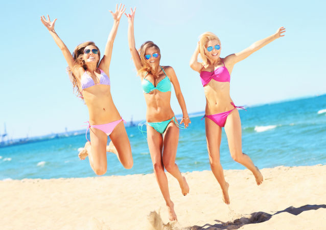 Dziewczyny w bikini