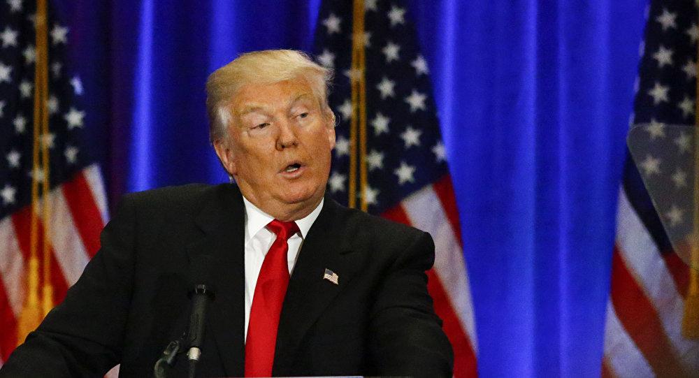 Republikański kandydat w wyścigu do Białego Domu Donald Trump