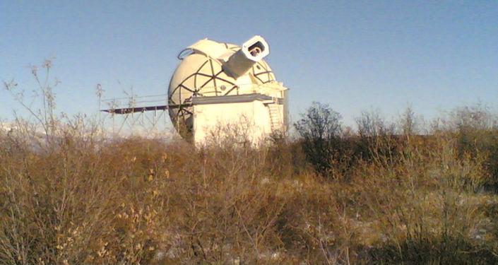 Koronograf działający niezależnie od zaćmień słońca w Sajańskkim Obserwatorium Słonecznym