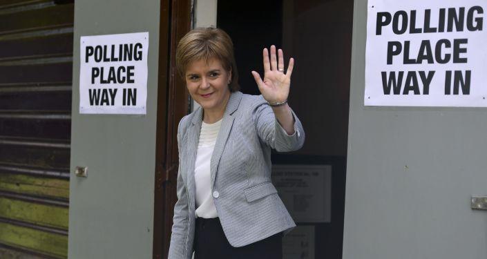 Premier Szkocji Nicola Sturgeon