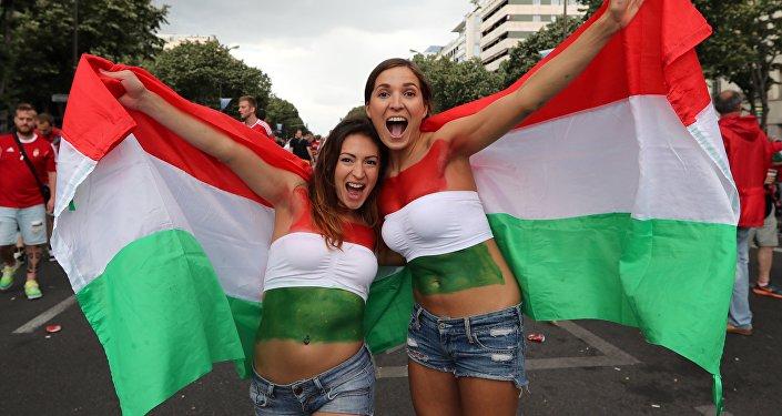 Węgierscy kibice