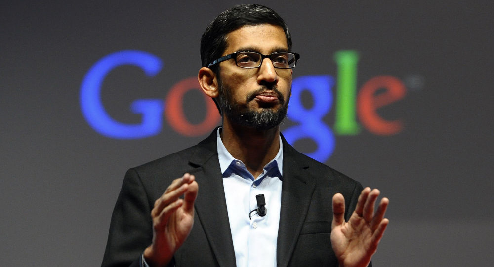Dyrektor generalny firmy Google Sundar Pichai