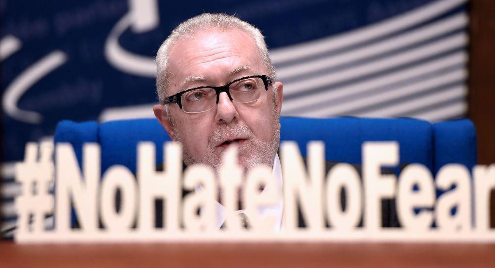 Przewodniczący Zgromadzenia Parlamentarnego Rady Europy (PACE) Pedro Agramunt
