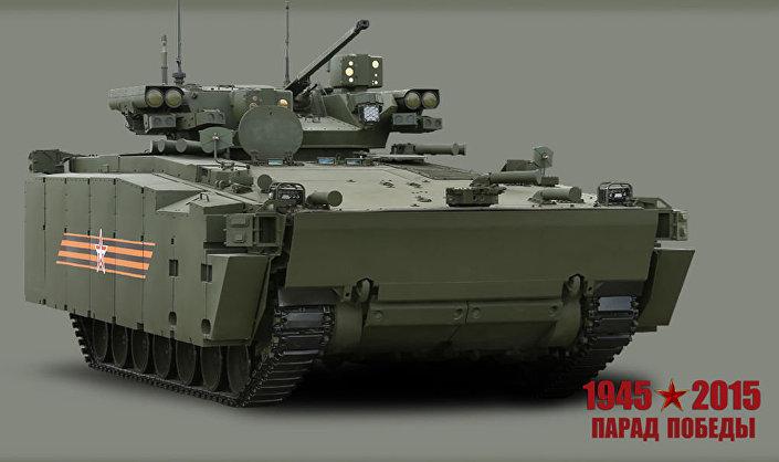 """Bojowy wóz piechoty """"Kurhanec-25"""