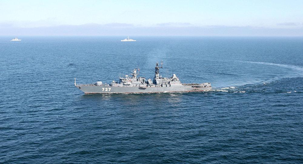 """Rosyjska fregata rakietowa """"Jarosław Mądry"""""""
