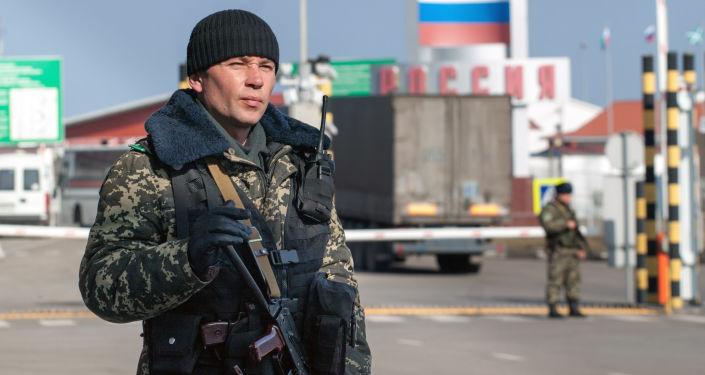 Przejście graniczne Hoptowka na granicy rosyjsko-ukraińskiej
