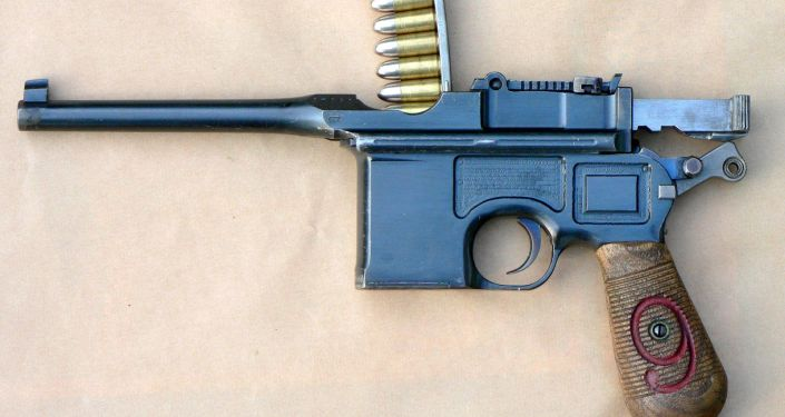Niemiecki pistolet Mauser K 96