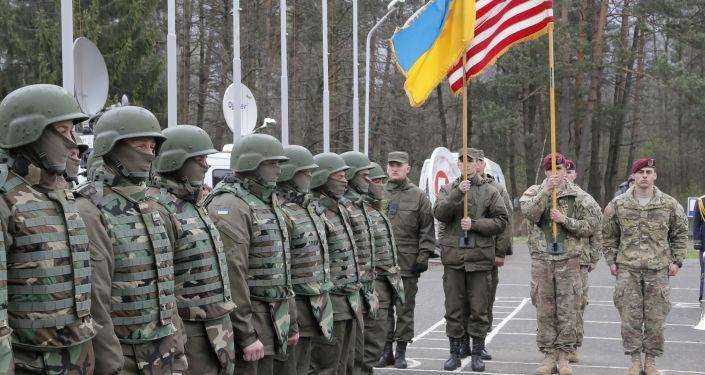 Ukraińsko-amerykańskie ćwiczenia sztabowe w obwodzie lwowskim