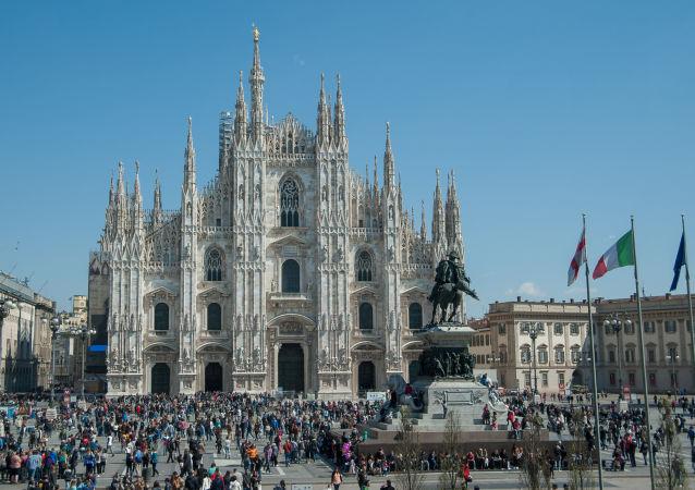 Katedra Narodzin św. Marii w Mediolanie.