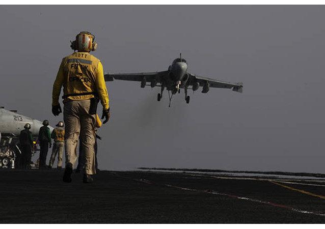 Amerykańskie siły powietrzne przeprowadzają naloty na Irak