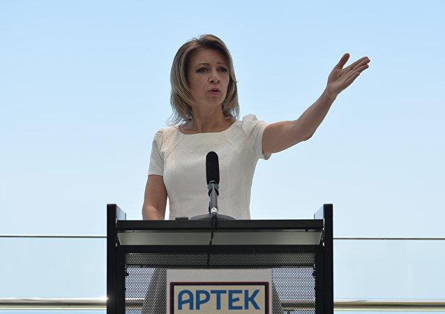 Rzeczniczka MSZ Rosji Maria Zacharowa.