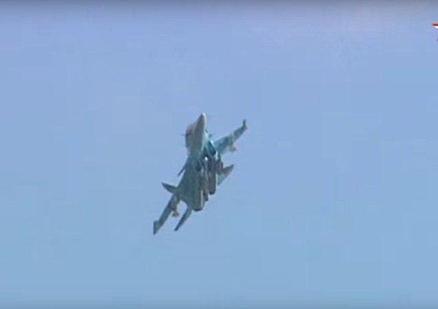 Su-34 w akcji
