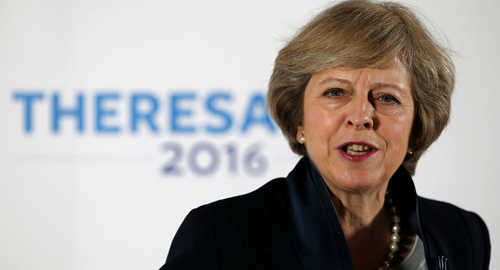 Faworytka w wyścigu o stanowisko premiera Wielkiej Brytanii Theresa May