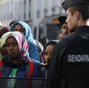 Imigranci w Paryżu