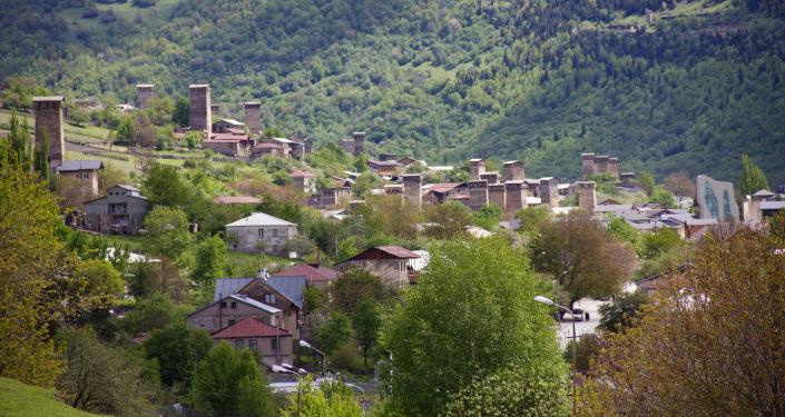 Mestia, Gruzja