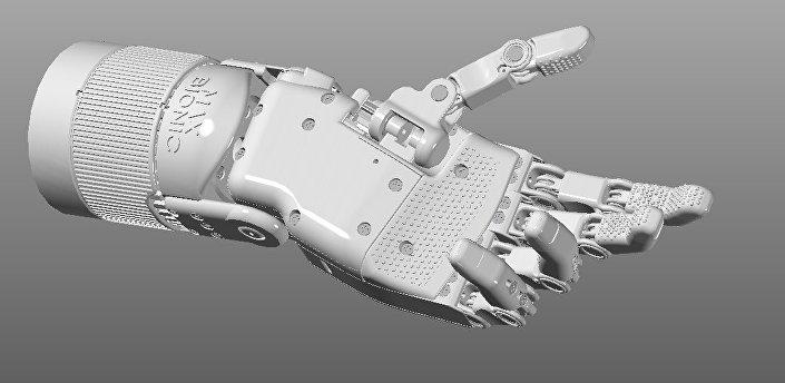 Projekt MaxBionic Maksima Liaszki - ręka-robot